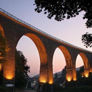 Talbrücke in Oberkirchen.