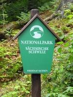 Foto Die Wanderung führt durch den Nationalpark Sächsische Schweiz