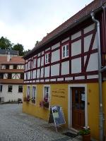 Foto Handpuppenspiel in der Altstadt von Hohnstein
