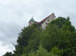 Foto Die Türme der Burg Hohnstein sind von Weitem erkennbar