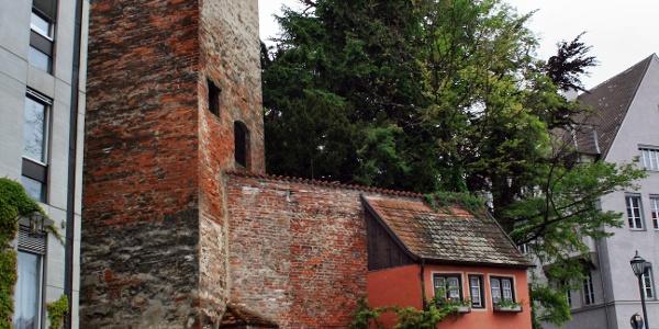 Der Hexenturm in Memmingen.