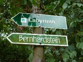 Foto Wegmakierung Felsenlabyrinth