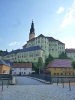 Foto Zugang zum Schloss Weesenstein