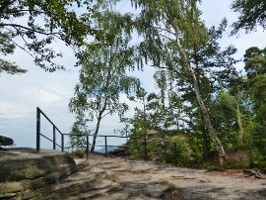 Foto Aussichtsplattform an der Barbarine