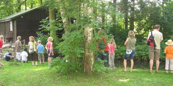 Schutzhütte Schwanenteich
