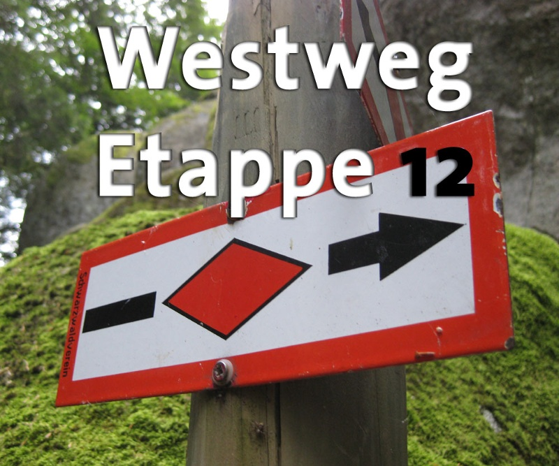 Westweg-Etappe 12 (West): Kandern - Basel