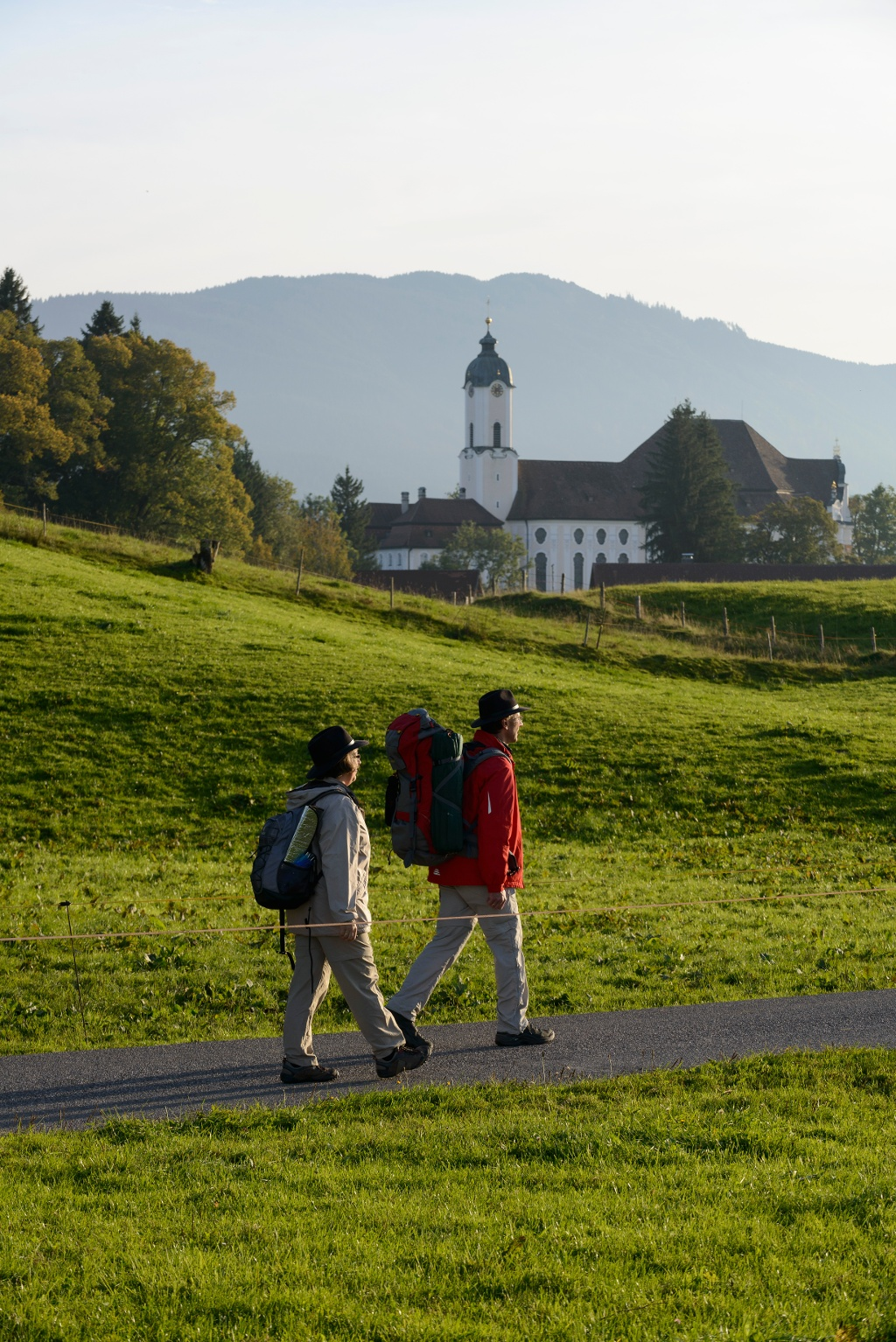 Die Wieskirche ist nur ein Highlight auf dieser Etappe (Wolfgang Ehn)