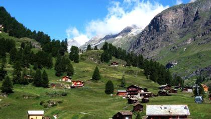 Blick in Furi: Die Bilderbuchlandschaft um Zermatt