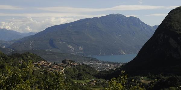 Ausblick aus Ville del Monte - Tenno