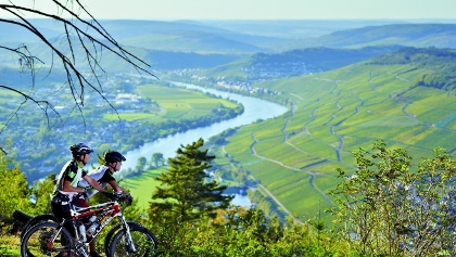 Mountainbiken in der Moselregion