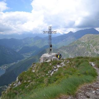 Gipfelkreuz Cima d'Oro