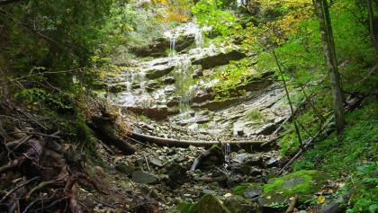 Wasserfall am Litzldorfer Bach