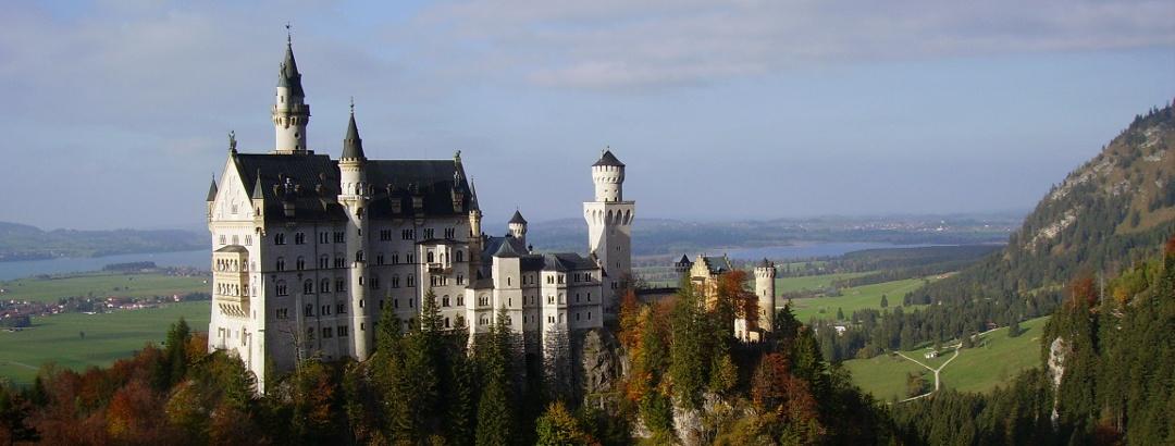 Schloss Neuschwanstein im Allgäu