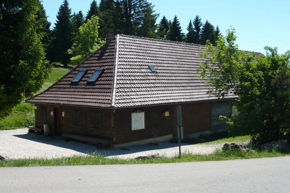 Die Plettenberghütte wird sonntags vom Albverein bewirtschaftet.