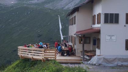 Steinseehütte auf 2061m