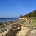 Auch an der Steilküste gibt es Zugänge zum Strand.