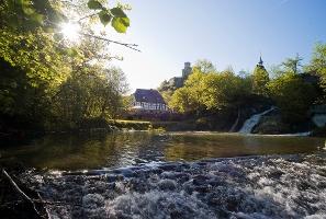 Am Pyrmonter Wasserfall (Foto: , Quelle: Rhein-Mosel-Eifel-Touristik)