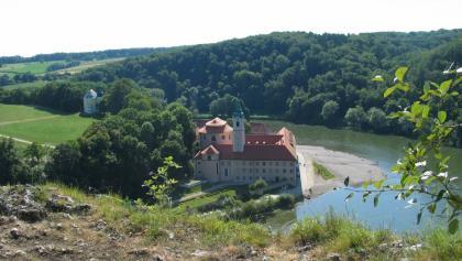 Donau-Panoramaweg - Kloster Weltenburg am Donaudurchbruch