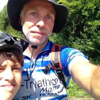 2 Sommerradfahrer
