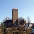 Blick auf Burg Blankenstein.