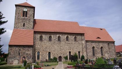 Die Kirche in Falkenhagen.