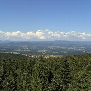 Der Aussichtsturm bietet einen einmaligen Rundumblick.