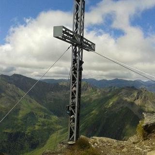 Gipfelkreuz Schoberspitze