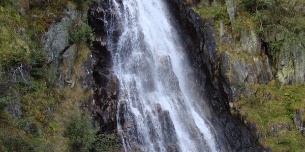 Wasserfall am Weg zum Talkenschrein