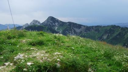 Blick zum Risserkogel vom Setzberg