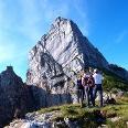 Sparerriegel, Plateau 1825m mit Gipfel