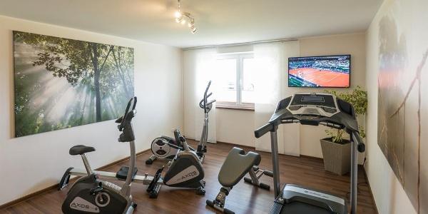 Fitnessraum inklusive