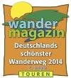 Deutschlands Schönster Wanderweg 2014_2. Platz