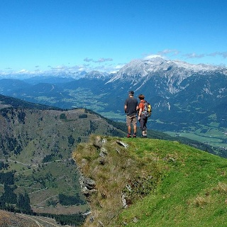Blick vom Pleschnitzzinken ins Seewigtal