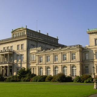 Die Villa Hügel.
