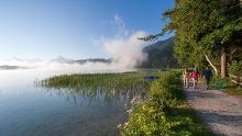 Nordic Walking um den Weißensee