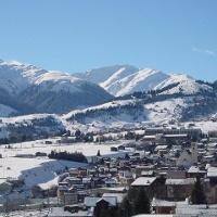 Disentis im Winter