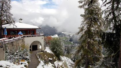 Blick von der Schatzalp auf Davos