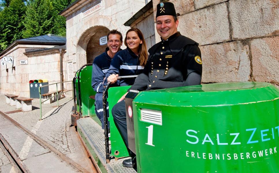 Einfahrt Salzbergwerk Berchtesgaden
