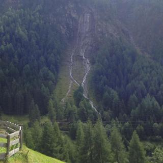 Wasserfall in zicknitz