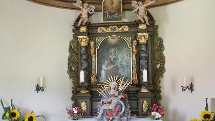Die kleine Kapelle in Ziegolz.