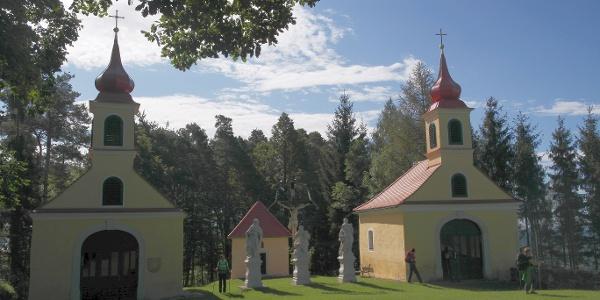 Heiliges Grab am Ende des Kreuzweges