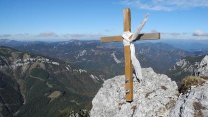 Kreuz beim Ausstieg