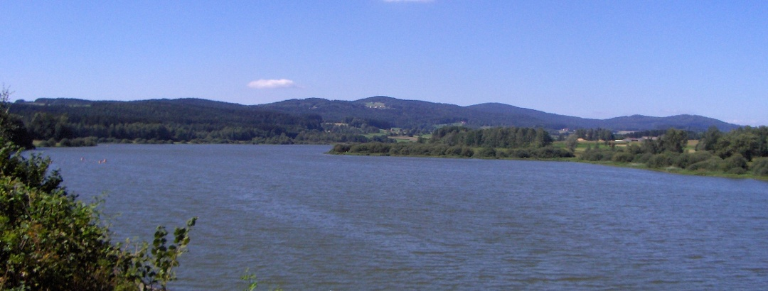 Wir erreichen den herrlich gelegenen Silbersee.