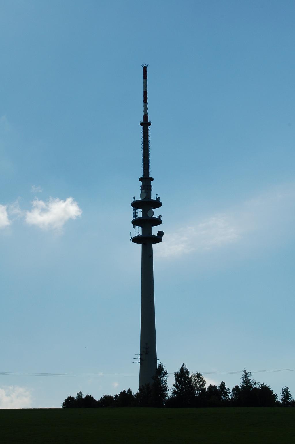 Fernsehturm auf dem Hohenpeißenberg. (Alpstein)