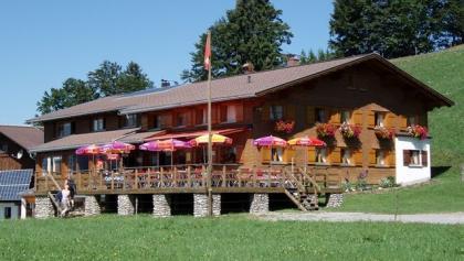Alpengasthof Brüggelekopf - ein beliebtes Ausflugsziel im Sommer