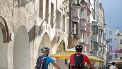 Die Altstadt von Brixen lädt zum Bummeln ein.