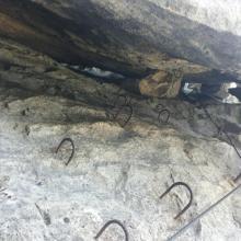 Einstieg zum Kamin