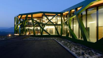 Kellerei Tramin - das neue Heim des Gewürztraminers