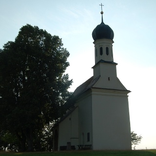 Die Loreto Kirche bei Kreen.