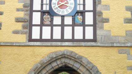 Durchgang am Tübinger Tor in Reutlingen.